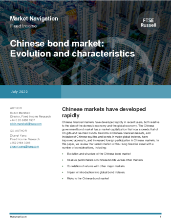 Chinese bond market – evolution and characteristics