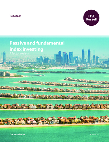 Passive and fundamental index investing: A factor analysis