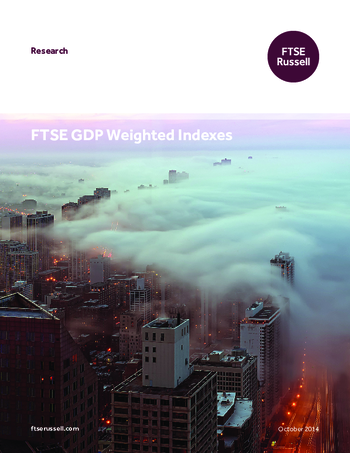 FTSE GDP Weighted Indexes
