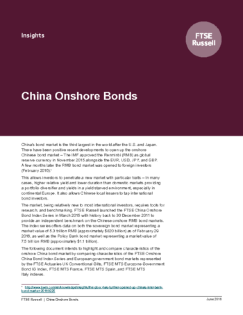 China Onshore Bonds