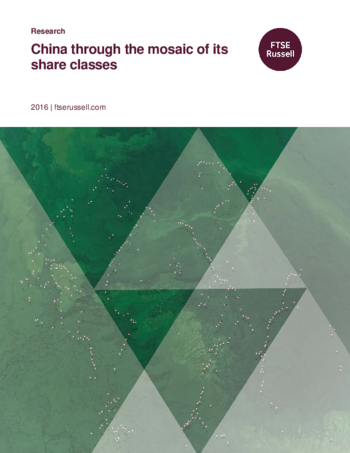 China through the mosaic of its share classes