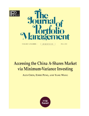 Accessing the China A-shares market via minimum-variance investing