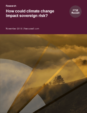How could climate change impact sovereign risk?