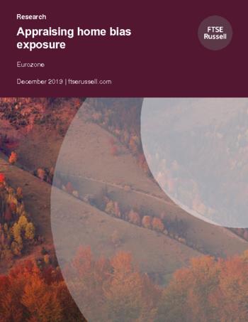Appraising home bias exposure: Eurozone