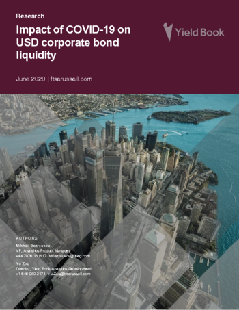 Impact of COVID-19 on USD corporate bond liquidity