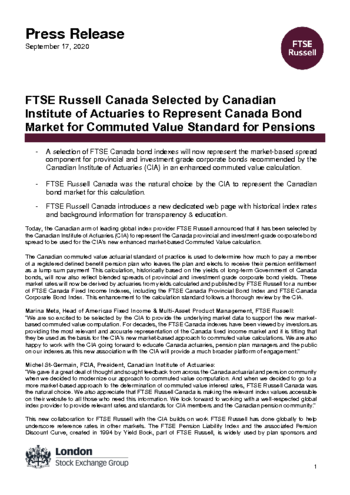 FTSE Russell announces 2018 Russell US Indexes Reconstitution schedule