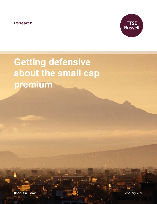 Getting defensive about the small cap premium