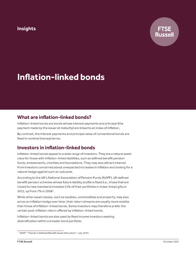 Inflation-linked bonds