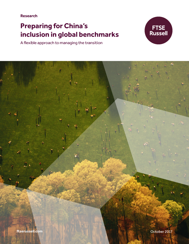 Preparing for China's inclusion in global benchmarks - A flexible approach to managing the transition