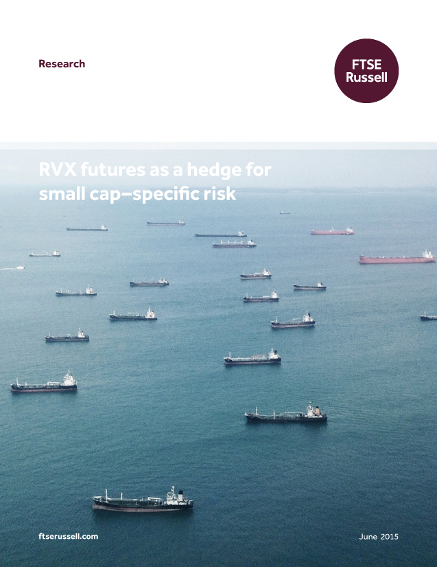 RVX futures as a hedge for small cap–specific risk