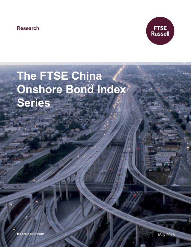 The FTSE China Onshore Bond Index Series